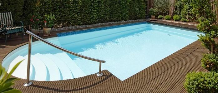 Композитные бассейны RivieraPool от компании EURO-POOLS! Модель Rom.